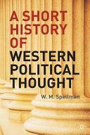 A Short History of Western Political Thought Pdf/ePub eBook