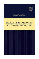 Market Definition in EU Competition Law