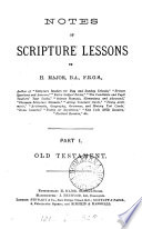 Notes of Scripture lessons