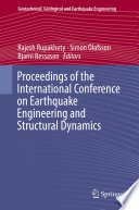 Proceedings of the International Conference on Earthquake Engineering and Structural Dynamics Book