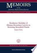 Nonlinear Stability of Ekman Boundary Layers in Rotating Stratified Fluids