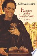 Homilies on the Gospel of John  41 124