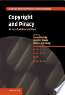 Copyright and Piracy
