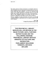 Ontario Library Review