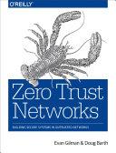 Pdf Zero Trust Networks