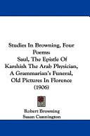 Studies in Browning  Four Poems