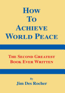 Pdf How to Achieve World Peace