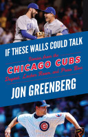 If These Walls Could Talk: Chicago Cubs Pdf/ePub eBook