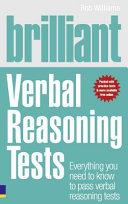 Brilliant Verbal Reasoning Tests