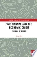 SME Finance and the Economic Crisis