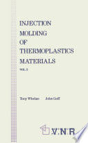 Injection Molding of Thermoplastic Materials   2