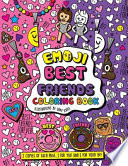 Emoji Best Friends Coloring Book