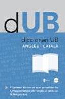 Diccionari UB. Anglès-Català