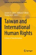 Taiwan and International Human Rights