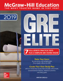 McGraw-Hill Education GRE ELITE 2019