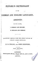 Dictionary of the German and English Languages