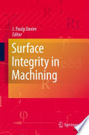 Surface Integrity In Machining Book PDF