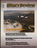 Professional Journal of the United States Army