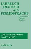 Jahrbuch Deutsch als Fremdsprache