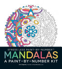 Stress Less Paint By Number Mandalas