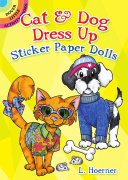 Cat & Dog Dress Up Sticker Paper Dolls