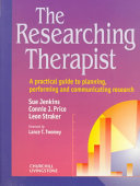 Cover of The Researching Therapist