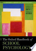 The Oxford Handbook Of School Psychology
