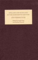 England and Scotland in the Fourteenth Century