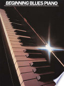 Beginning Blues Piano Book
