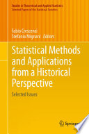 Statistical Methods and Applications from a Historical Perspective