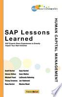 Sap Lessons Learned Human Capital Management