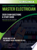 Virginia 2020 Master Electrician Exam Questions And Study Guide Book