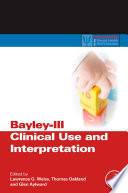 Bayley III Clinical Use and Interpretation