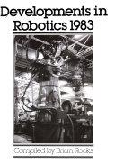 Developments in Robotics, 1983