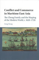 Conflict and Commerce in Maritime East Asia Book