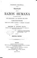 Tratado de la razon humana en estado de salud