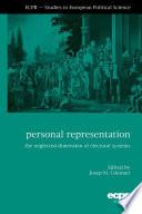 Personal Representation