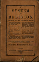 A system of religion  etc   Revised and corrected by Isaac Frost