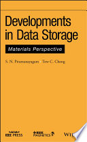 Developments in Data Storage