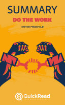 Pdf Do the Work by Steven Pressfield (Summary) Telecharger