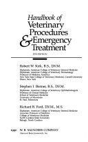 Handbook of Veterinary Procedures   Emergency Treatment