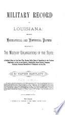 Military Record of Louisiana