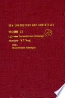 Semiconductors And Semimetals Book PDF
