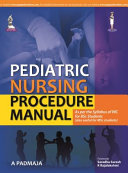Pediatric Nursing Procedure Manual