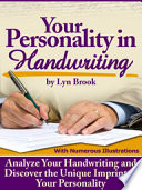Your Personality in Handwriting Book