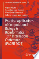 Practical Applications of Computational Biology   Bioinformatics  15th International Conference  PACBB 2021