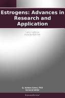 Estrogens: Advances in Research and Application: 2011 Edition Pdf/ePub eBook