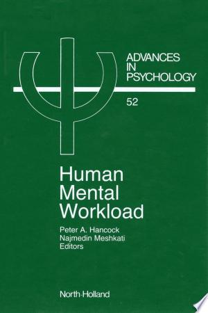 Free Download Human Mental Workload PDF - Writers Club