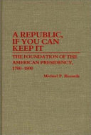 A Republic  If You Can Keep it Book PDF