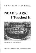 Noah's ark: I touched it